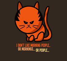 This grumpy cat is not a morning person T-Shirt