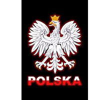 Polska - Polish Coat of Arms - White Eagle Photographic Print