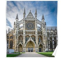 Westminster Abbey Entrance Poster