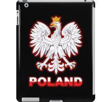 Poland - Polish Coat of Arms - White Eagle iPad Case/Skin