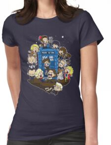 Let's Play Doctor Womens Fitted T-Shirt