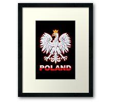 Poland - Polish Coat of Arms - White Eagle Framed Print