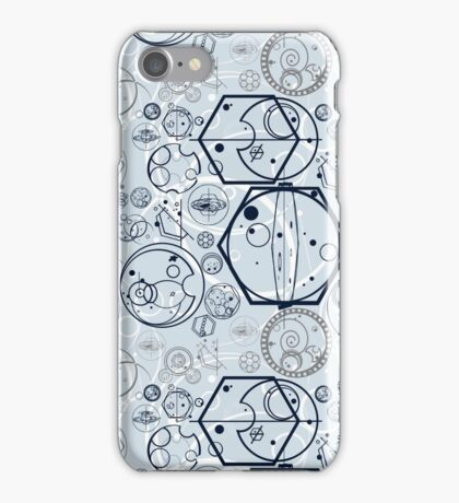 Gallifrey Symbols iPhone Case/Skin