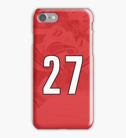 Justin Faulk - Carolina Hurricanes #27 Phone Case iPhone Case/Skin