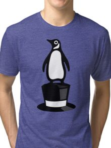 Sir penguin Tri-blend T-Shirt
