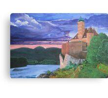 Schönbühel Castle on the Danube Canvas Print