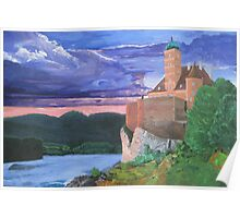 Schönbühel Castle on the Danube Poster