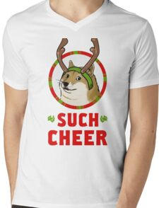 A Well Spirited Doge Mens V-Neck T-Shirt