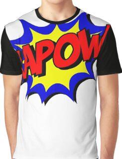 KAPOW! COMIC BOOK Graphic Graphic T-Shirt