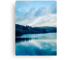 Cool Lake View Canvas Print