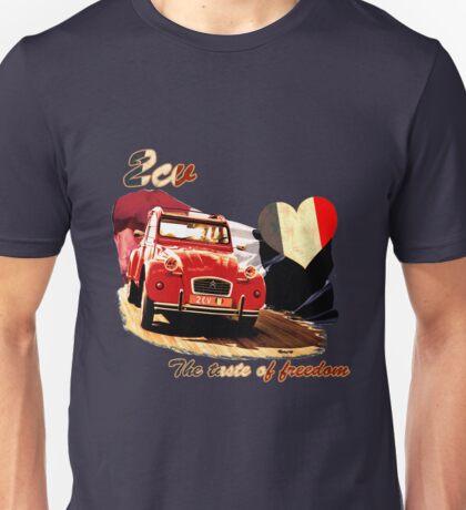 2cv the taste of freedom Unisex T-Shirt