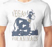 VEGAN FOR ANIMALS Unisex T-Shirt