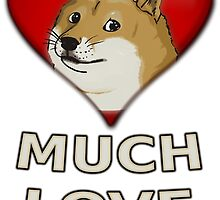 Doge Valentine's Day by Poyo