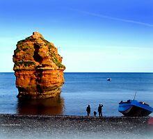 Ladram Rock by Charmiene Maxwell-batten