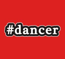 Dancer - Hashtag - Black & White Kids Clothes