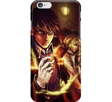 Oh Snap! The Fire Alchemist iPhone Case/Skin