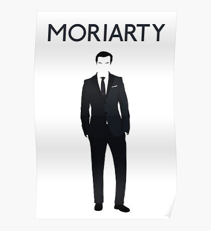 Moriarty print Poster