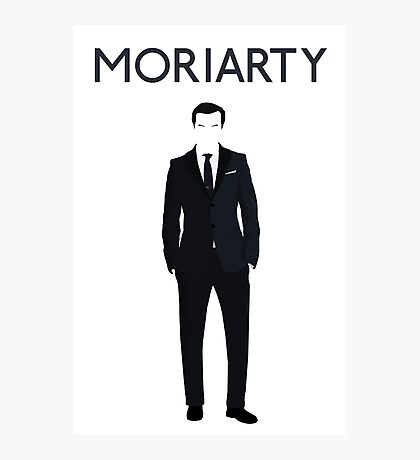 Moriarty print Photographic Print