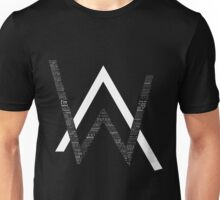 Alan Walker FADED SING ME TO SLEEP AND ALONE LYRICS Unisex T-Shirt