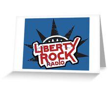 Liberty Rock Radio - Gta Greeting Card