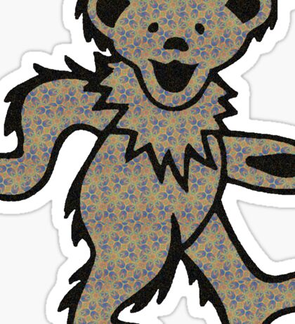 Grateful  Dead Bear Sticker