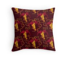 King In Yellow Throw Pillow