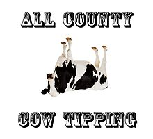 Cow Tipping by TheBestStore