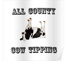 Cow Tipping Poster
