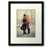 Observing Tradition (pirate style) Framed Print
