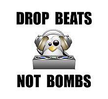 Drop Beats Photographic Print