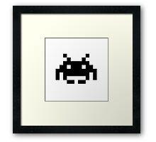 Invader Space Framed Print