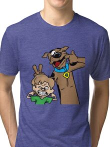 Scooby and Shaggy Tri-blend T-Shirt
