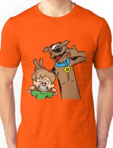 Scooby and Shaggy Unisex T-Shirt
