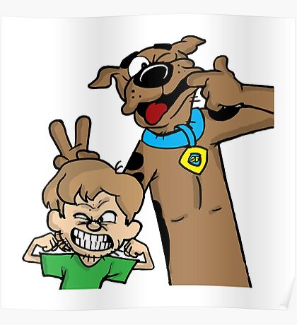Scooby and Shaggy Poster