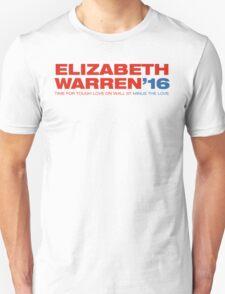 Elizabeth Warren For President T-Shirt