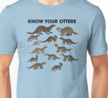 Know Your Otters Unisex T-Shirt