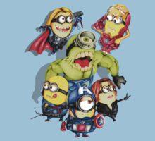 Cute caricature parody comics superheroes Group by Dadang Lugu Mara Perdana