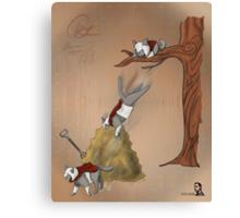 Famous Cats_ Assassin Cat 01 Canvas Print