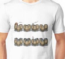 Famous Cats_ Barrels Unisex T-Shirt