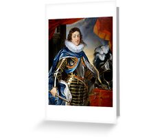 Louis XIII of France Greeting Card