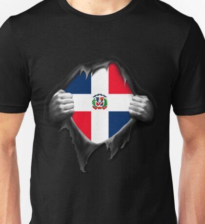 Dominican Republic Flag  Unisex T-Shirt