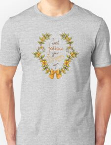 Flower wreath Unisex T-Shirt