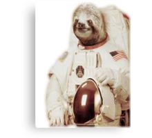 Astronaut Sloth Canvas Print
