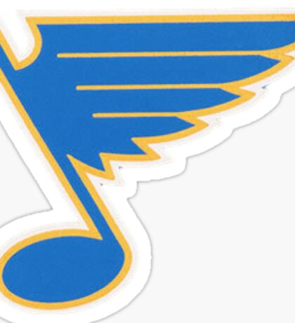 St. Louis Blues 50th Anniversary Sticker