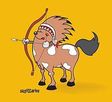 funny zodiac/sagittarius by mangulica