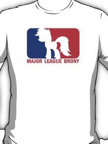 Major League Brony - Logo & Text T-Shirt