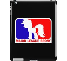 Major League Brony - Logo & Text iPad Case/Skin