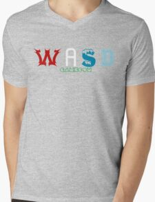 WASD GameCom Mens V-Neck T-Shirt