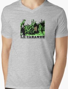 Le Corbusier Cabanon Vintage Architecture T shirt Mens V-Neck T-Shirt