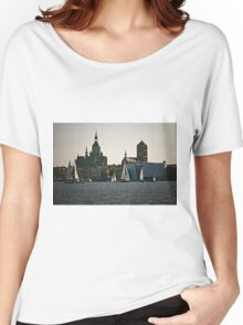 Stralsund, Mecklenburg Western Pomerania, Germany. Women's Relaxed Fit T-Shirt